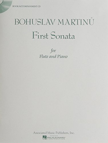 9781458485182: First Sonata for Flute and Piano - Book/Accompaniment CD
