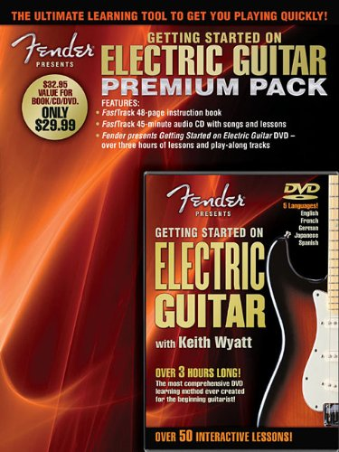 9781458488114: Fender Presents Getting Started on Electric Guitar