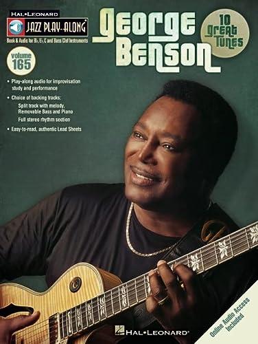 9781458491237: George Benson - Jazz Play-Along Volume 165 (Book/CD) (Hal Leonard Jazz Play-Along)