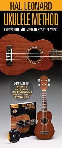 Hal Leonard Ukulele Starter Pack: Includes a Ukulele, Method Book/CD, and DVD: Lil' Rev