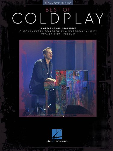 9781458494351: Best Of Coldplay For Big-Note Piano