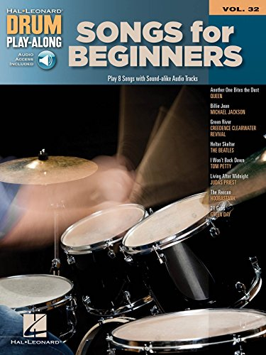 9781458497314: Songs for Beginners Drum Play-Along Book/Audio
