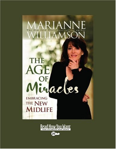 9781458717573: The Age of Miracles (EasyRead Super Large 20pt Edition): Embracing the New Midlife