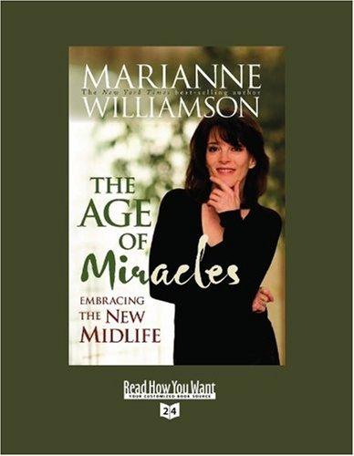 9781458717610: The Age of Miracles (EasyRead Super Large 24pt Edition): Embracing the New Midlife