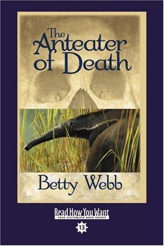 9781458717832: The Anteater of Death (EasyRead Comfort Edition): A Gunn Zoo Mystery