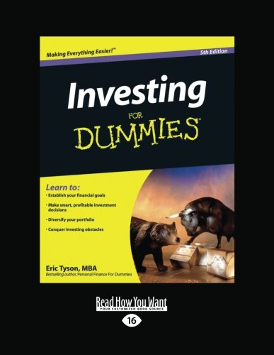 Investing for Dummies (Volume 2 of 2): Tyson, Eric