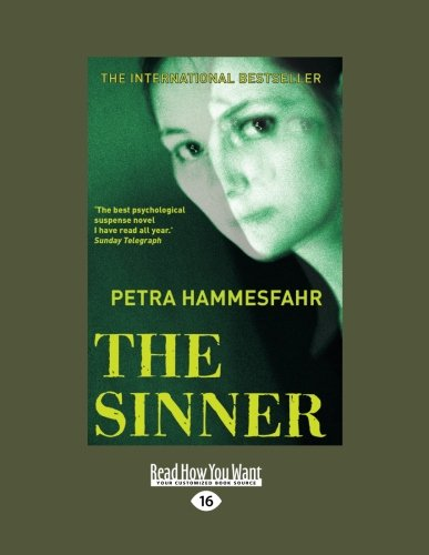 9781458722447: The Sinner (Large Print 16pt)