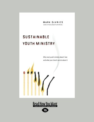 9781458723994: Sustainable Youth Ministry