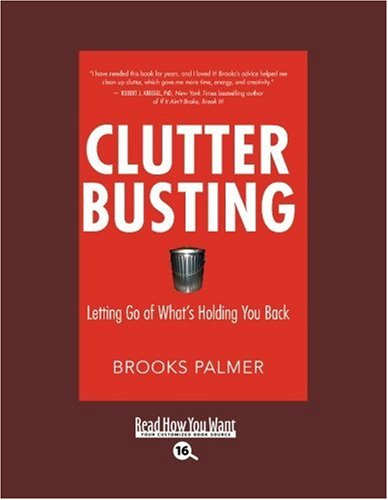 9781458725141: Clutter Busting (EasyRead Large Bold Edition): Letting Go of Whats Holding You Back