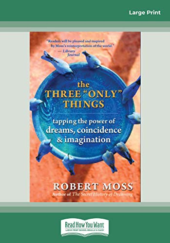 9781458727510: The Three Only Things: Tapping the Power of Dreams, Coincidence & Imagination (Easyread Large Edition)