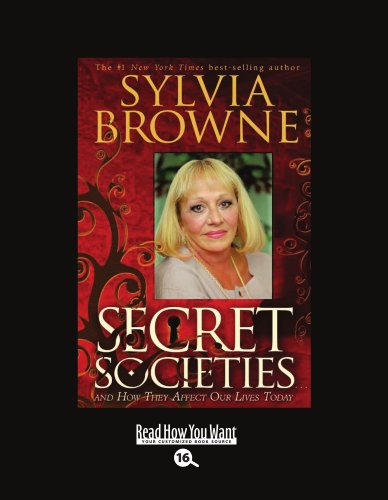 9781458730619: Secret Societies (EasyRead Large Bold Edition): And How They Affect Our Lives Today