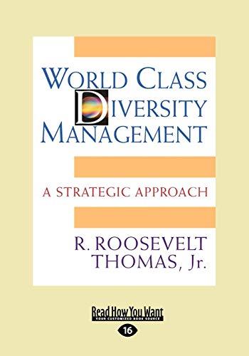 9781458731883: World Class Diversity Management: A Strategic Approach