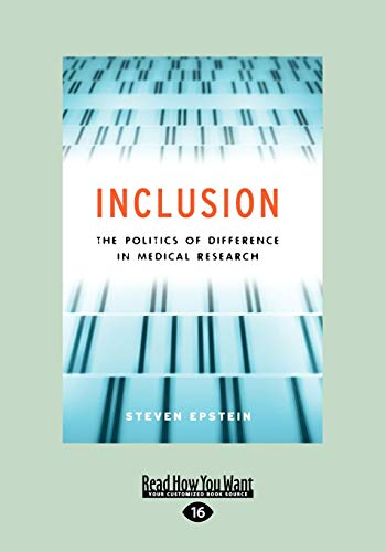 Inclusion: The Politics of Difference in Medical: Steven Epstein