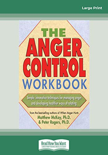 9781458746665: The Anger Control Workbook