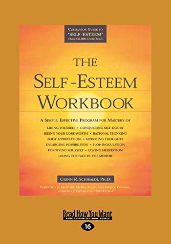 9781458746887: The Self-Esteem Workbook (Easyread Large Edition)