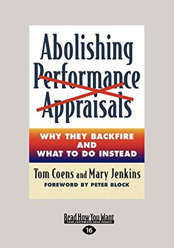 9781458756640: Abolishing Performance Appraisals