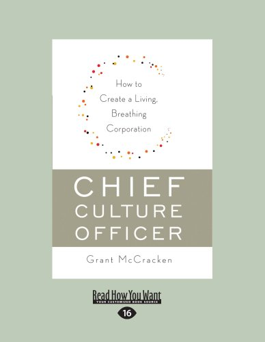 9781458758798: Chief Culture Officer