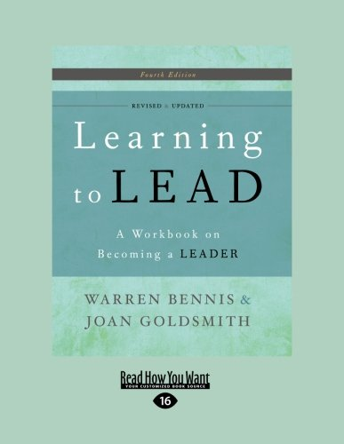 9781458759016: Learning to Lead 4th Edition: A Workbook on Becoming a Leader