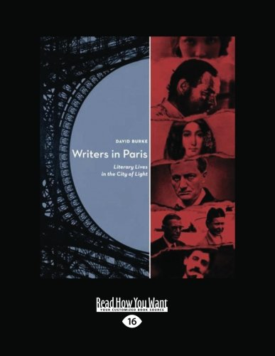 9781458759061: Writers In Paris: Literary Lives in the City of Light