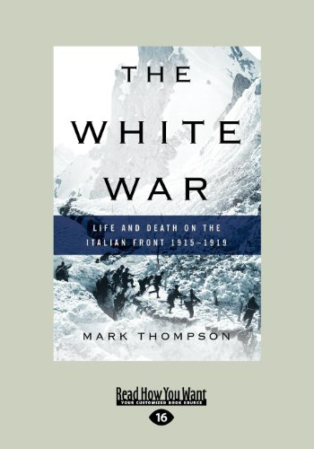9781458760333: The white war (Large Print 16pt)
