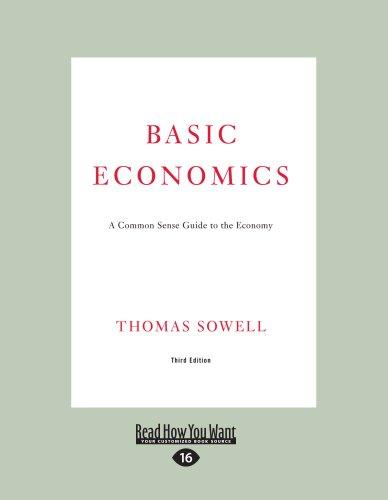 9781458760517: Basic Economics: A Common Sense Guide to the Economy