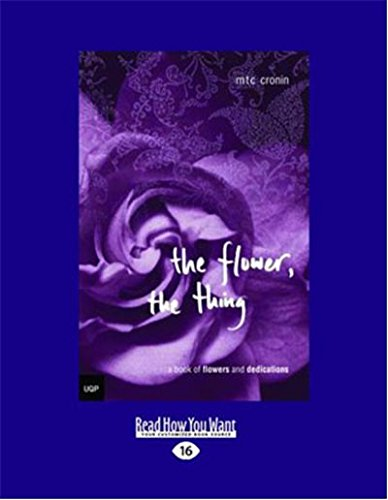 9781458761019: The Flower, the Thing