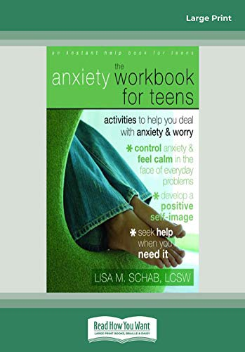 9781458762702: The Anxiety Workbook for Teens: Activities to help you deal with Anxiety & Worry