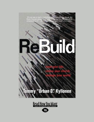 9781458764294: ReBuild: Reset Your Life. Renew Your Church. Reshape Your World.