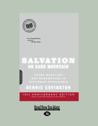 9781458766274: Salvation on Sand Mountain: Snake Handling and Redemption in Southern Appalachia