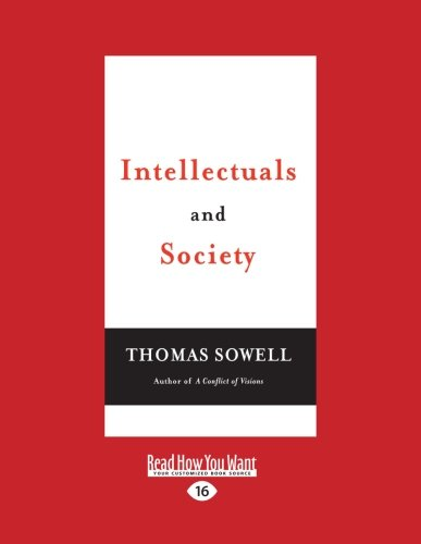 9781458769572: Intellectuals and Society: Easyread Large Edition