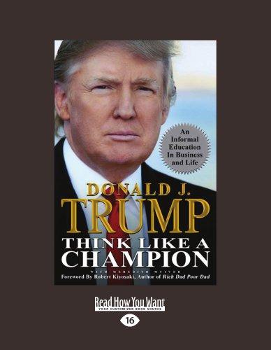 9781458772480: Think Like A Champion