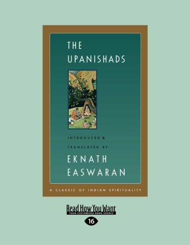 9781458778291: The Upanishads: The Classics of Indian Spirituality (Large Print 16pt)