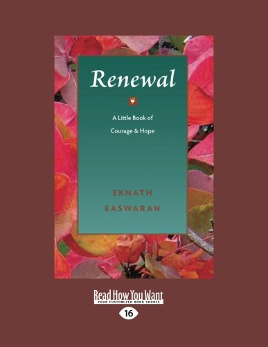 9781458778567: Renewal: A Little Book of Courage And Hope