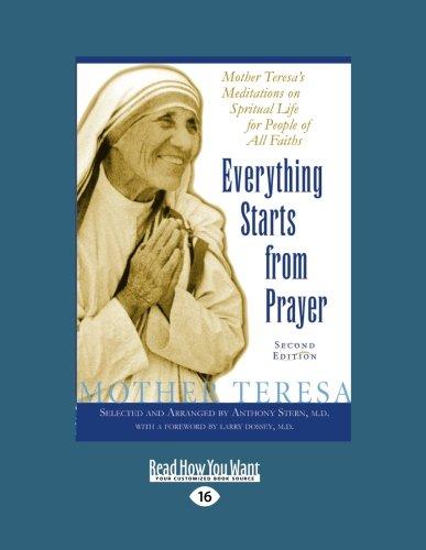 9781458778956: Everything Starts From Prayer