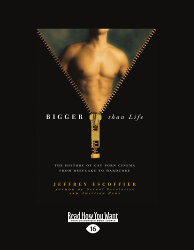 9781458779885: Bigger Than Life: The History of Gay Porn Cinema from Beefcake to Hardcore