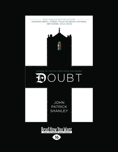 9781458780096: Doubt - a parable: Movie Tie-In Edition