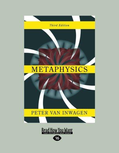 9781458781512: Metaphysics: Third Edition