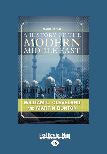 9781458781550: A History of the Modern Middle East (Large Print 16pt), Volume 1