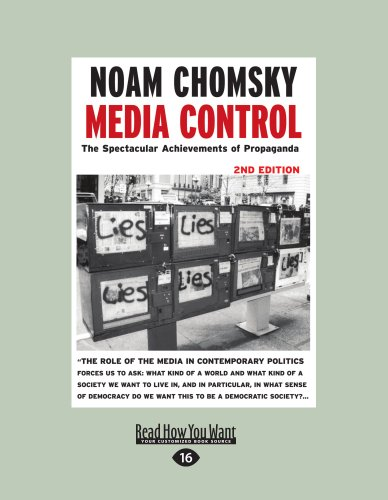 9781458783257: Media Control: The Spectacular Achievements of Propaganda: 2nd Edition