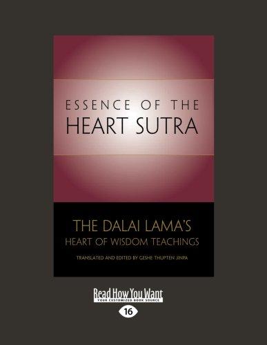 9781458783622: Essence of the Heart Sutra:The Dalai Lama's Heart of Wisdom Teachings