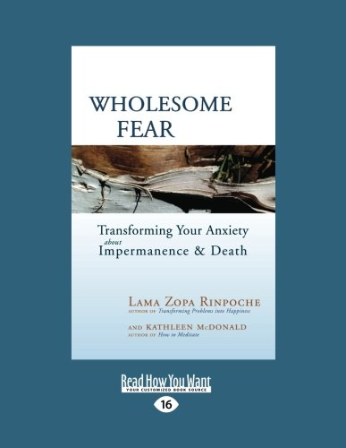9781458784148: Wholesome Fear: Transforming Your Anxiety about Impermanence and Death