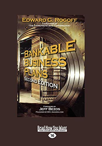 9781458785541: Bankable Business Plans: Second Edition (Large Print 16pt)