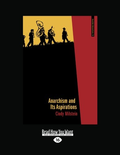 9781458787415: Anarchism and Its Aspirations
