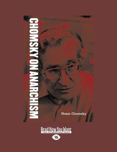 9781458787439: Chomsky on Anarchism