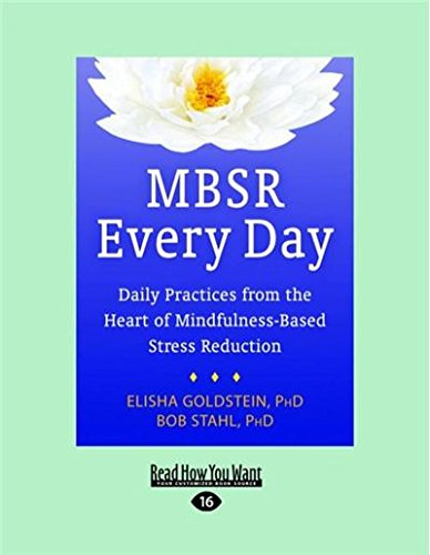 9781458794024: MBSR Every Day: Daily Practices from the Heart of Mindfulness-Based Stress Reduction