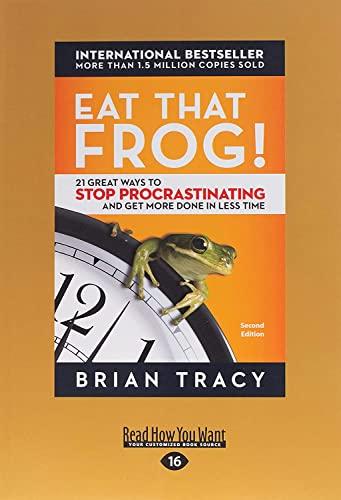9781458794352: EAT THAT FROG -LP