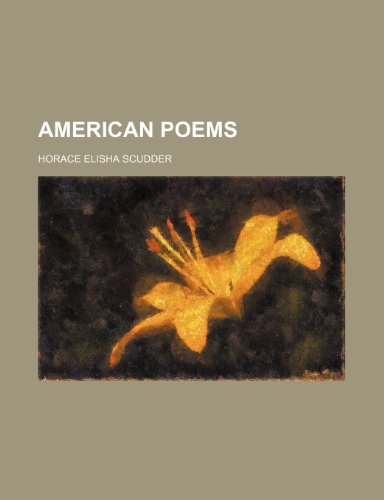 9781458805720: American Poems; Longfellow: Whittier: Bryant: Holmes: Lowell: Emerson