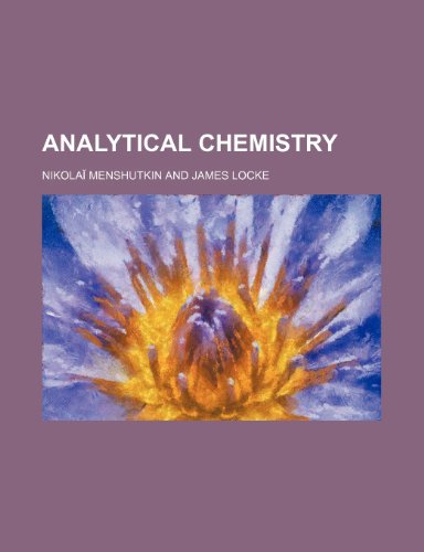 9781458812315: Analytical chemistry