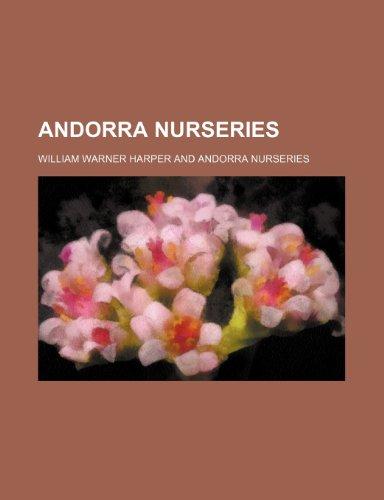 9781458812681: Andorra Nurseries