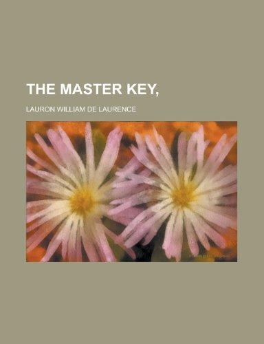9781458887283: The master key,